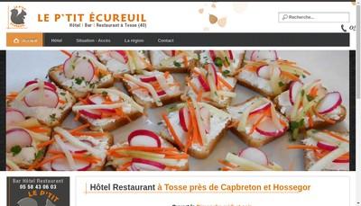Site internet de Le P Tit Ecureuil