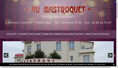 Site internet de Au Mastroquet