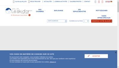 Site internet de Societe le Ski d'Or Hotel Rest Bar