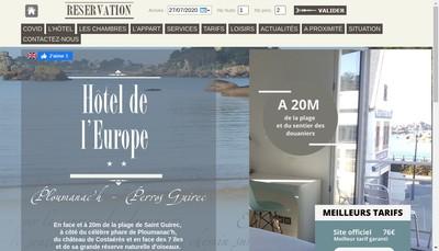 Site internet de De San Esteban