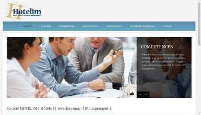 Site internet de Hotelim