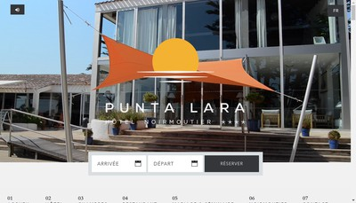 Site internet de Punta Lara
