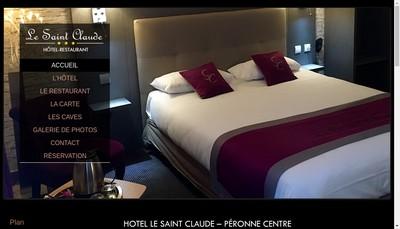Site internet de Hotel Saint Claude