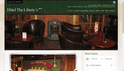 Site internet de The Liberty'S
