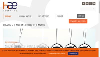Site internet de Humanae