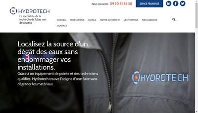 Site internet de Hydrotech