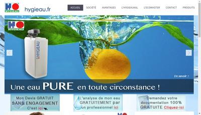 Site internet de Hygieau