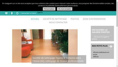 Site internet de Hypros