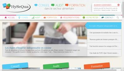 Site internet de Hysequa