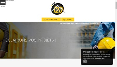 Site internet de I2O Installateurs du Second Oeuvre