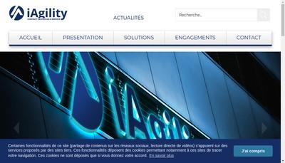 Site internet de I Agility