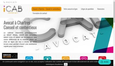 Site internet de Icab Avocat