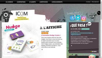 Site internet de Icom 21