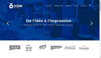 Site internet de Icone Graphic