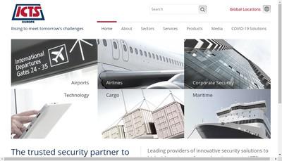 Site internet de Icts Europe