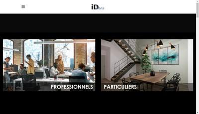Site internet de Id Linea