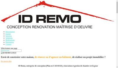 Site internet de Id Remo