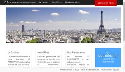Site internet de Id Assurances