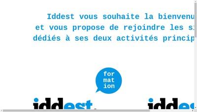 Site internet de Iddest