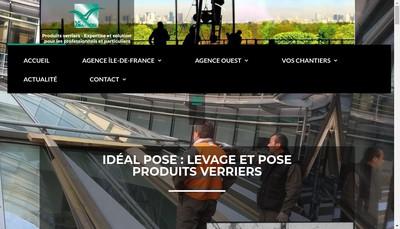 Site internet de Societe Nouvelle Ideal Pose