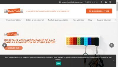 Site internet de Idealtaux
