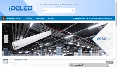 Site internet de Ideled