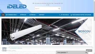 Site internet de Idelec