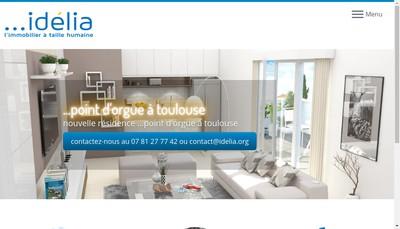Site internet de Idelia