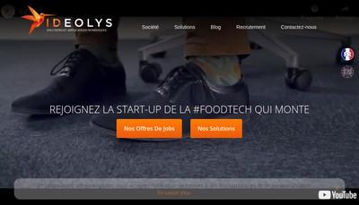 Site internet de Ideolys