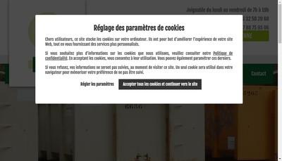 Site internet de Kouyate Services