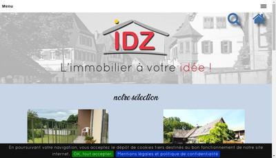 Site internet de Idz Immobilier