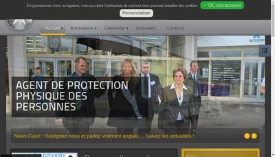 Site internet de Institut Europeen de Securite et de Communication