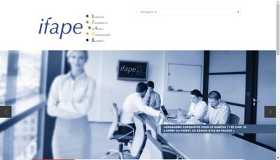 Site internet de Ifape