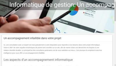 Site internet de Institut de Formation des Intervenants a Domicile - Formafirst