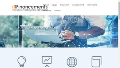 Site internet de Iii Financements