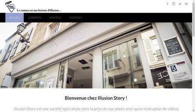Site internet de Illusion Story