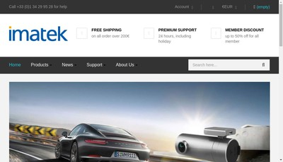 Site internet de Imatek