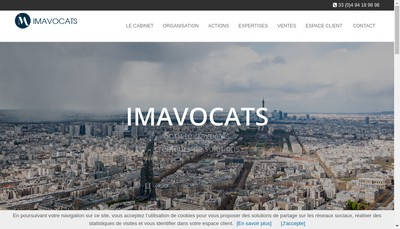 Site internet de Cabinet Inglese-Marin