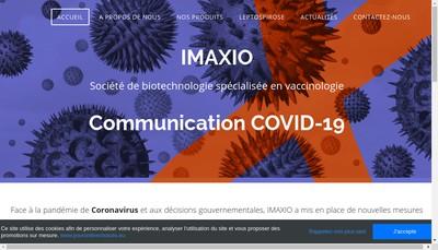 Site internet de Imaxio