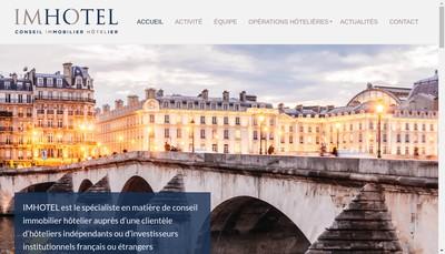 Site internet de Imhotel