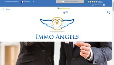 Site internet de Immo Angels