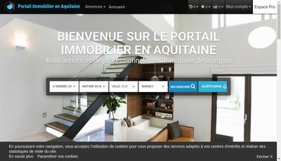 Site internet de Sallard Immobilier