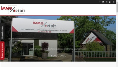 Site internet de Immocredit