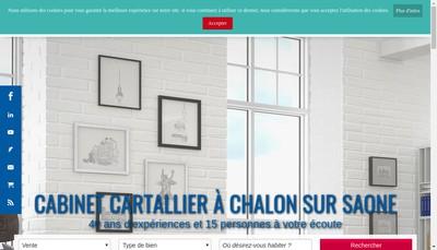 Site internet de Cabinet B Cartallier
