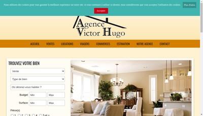 Site internet de Agence Victor Hugo