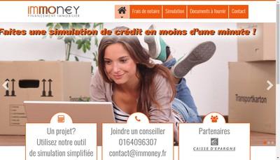 Site internet de Immoney