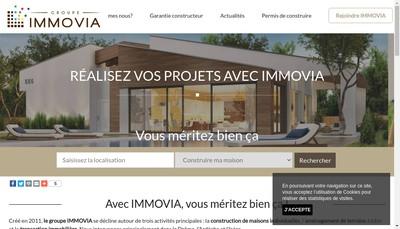 Site internet de Groupe Immovia