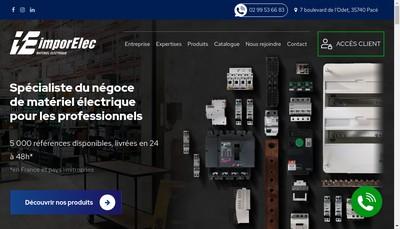 Site internet de Imporelec