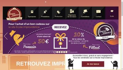 Site internet de Improvidence