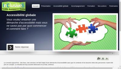 Site internet de Inclusives